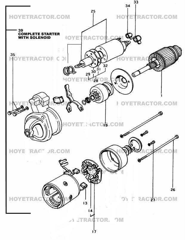 STARTER_INTERNAL: Yanmar Tractor Parts