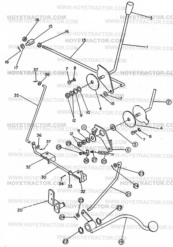 THROTTLE: Yanmar Tractor Parts