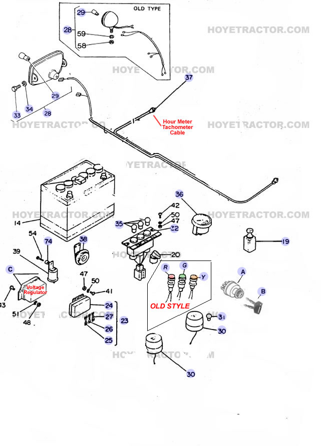 ELECTRICAL ^: Yanmar Tractor Parts