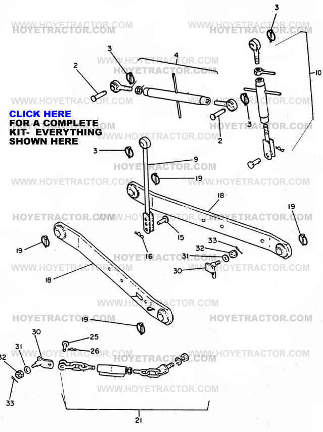 THREE_POINT_HITCH ^: Yanmar Tractor Parts