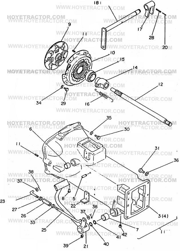 CLUTCH: Yanmar Tractor Parts