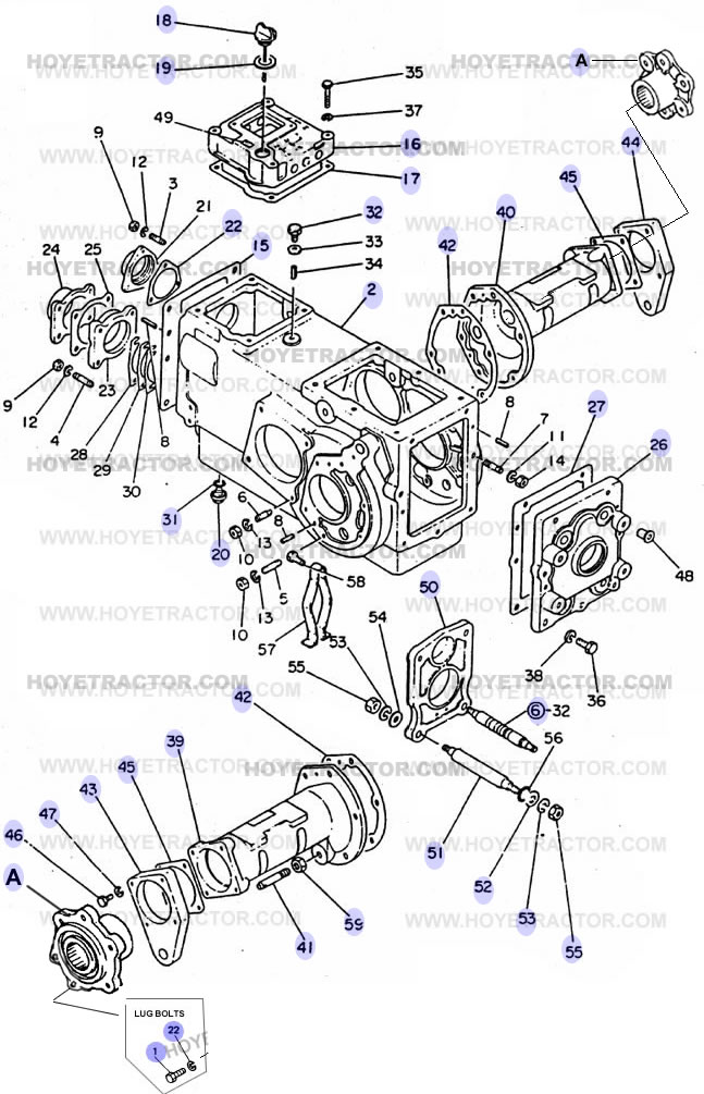 TRANSMISSION_CASE: Yanmar Tractor Parts