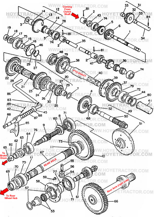 TRANSMISSION_INTERNAL: Yanmar Tractor Parts