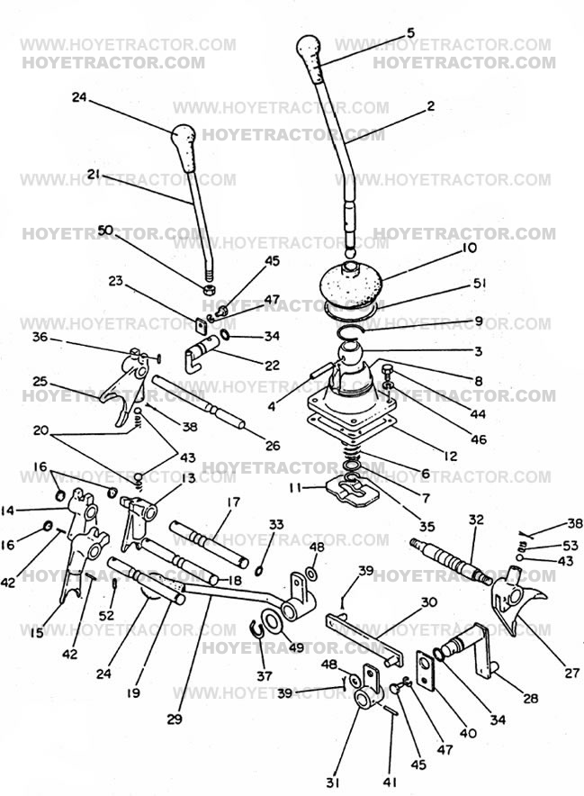SHIFTER: Yanmar Tractor Parts
