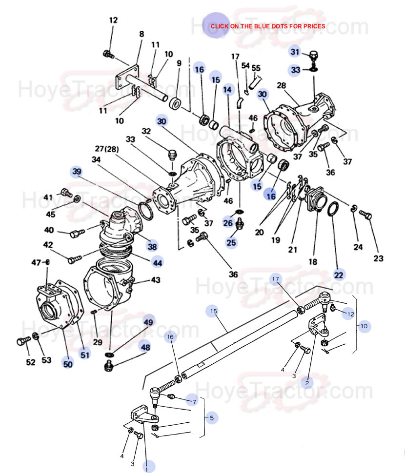 4WD EXTERNAL ^: Yanmar Tractor Parts