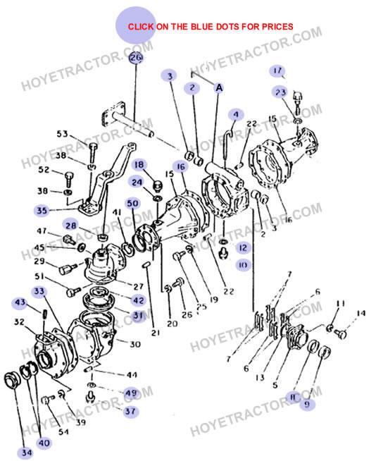 4WD EXTERNAL ^: Yanmar Tractor Parts