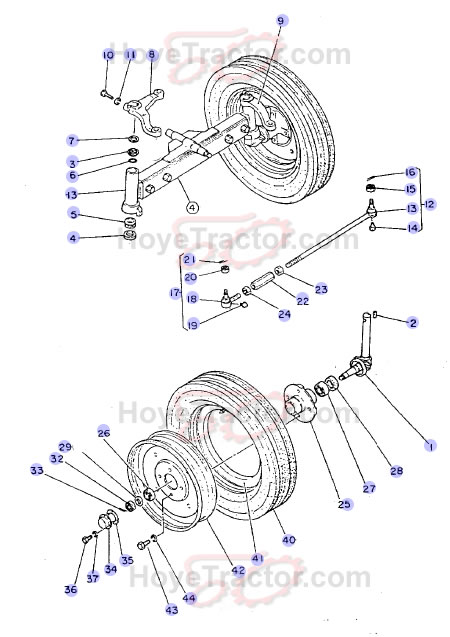 2WD AXLE ^: Yanmar Tractor Parts