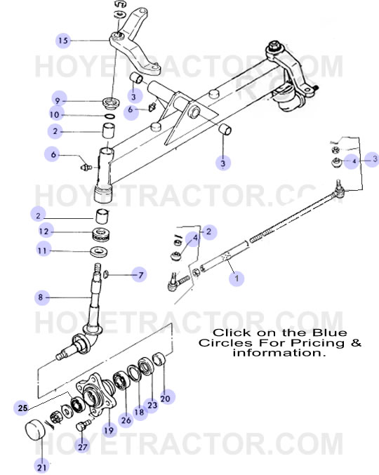 2WD AXLE ^: Yanmar Tractor Parts