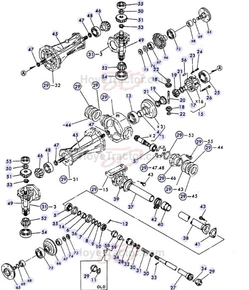 small resolution of 4wd internal old style yanmar tractor parts yanmar 1500 tractor parts yanmar replacement parts