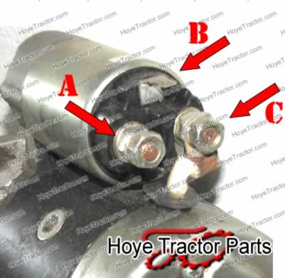 tractor starter switch wiring diagram mg tf 160 yanmar test