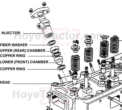 INJECTOR INSULATOR: Yanmar Tractor Parts