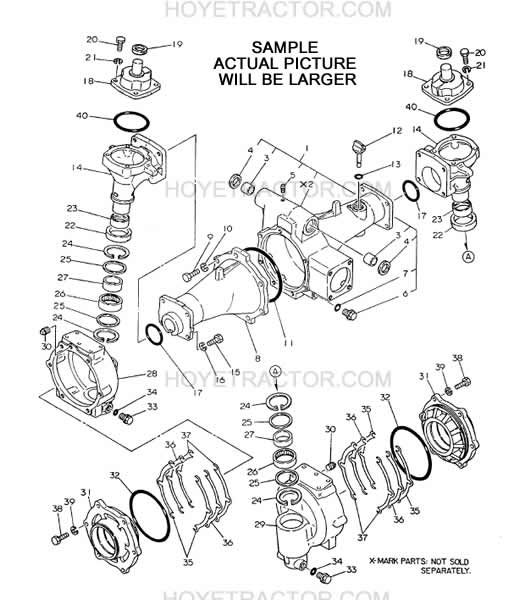 Yanmar Parts Manual (Japanese Tractors ): Yanmar Tractor Parts