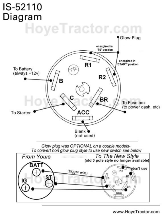 lawn tractor ignition switch wiring diagram ezgo txt 36 volt original yanmar style parts additional