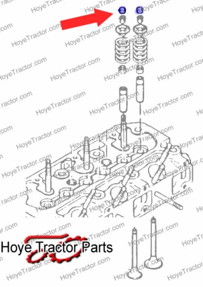 VALVE CAP: Yanmar Tractor Parts