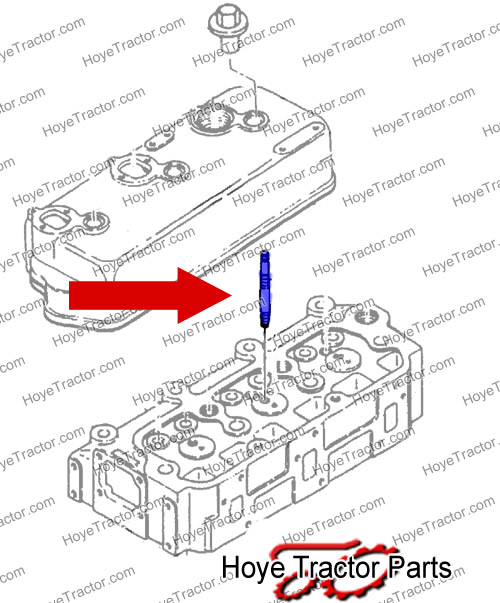 VALVE COVER / ROCKER STUD: Yanmar Tractor Parts