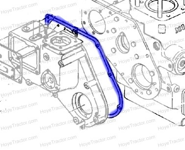 TIMING COVER GASKET: Yanmar Tractor Parts