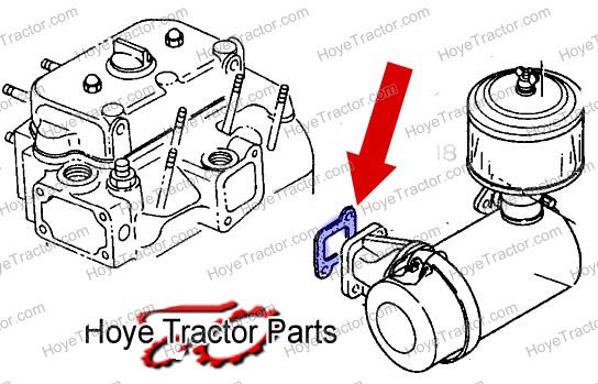 INTAKE GASKET: Yanmar Tractor Parts