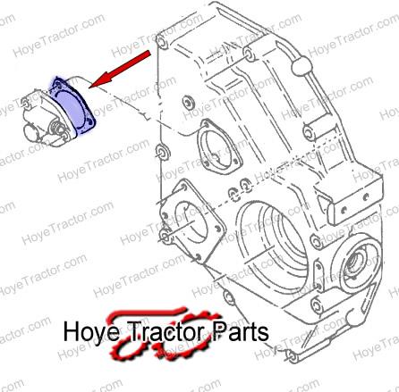 HOUR METER DRIVE GASKET: Yanmar Tractor Parts
