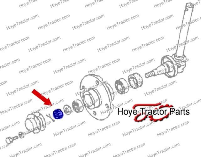 CASTEL NUT: Yanmar Tractor Parts