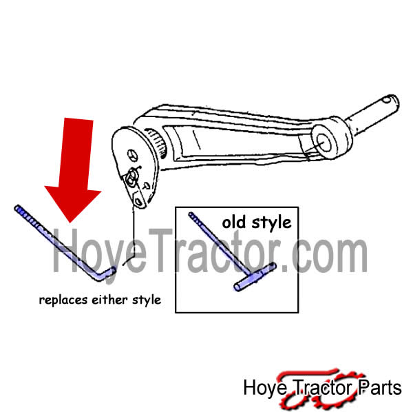 Feedback Rod: Yanmar Tractor Parts