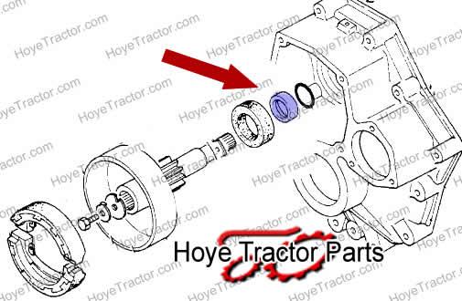 SEAL WEAR COLLAR: Yanmar Tractor Parts