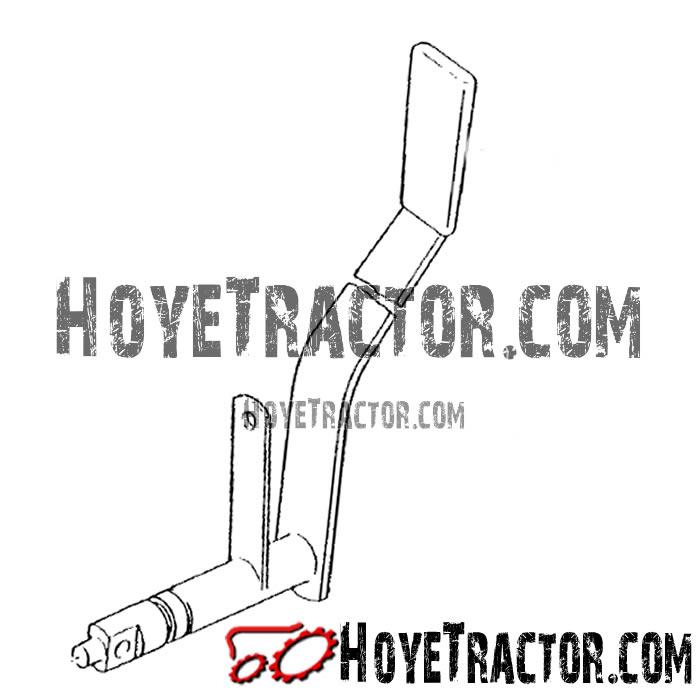 3PT Control Lever: Yanmar Tractor Parts