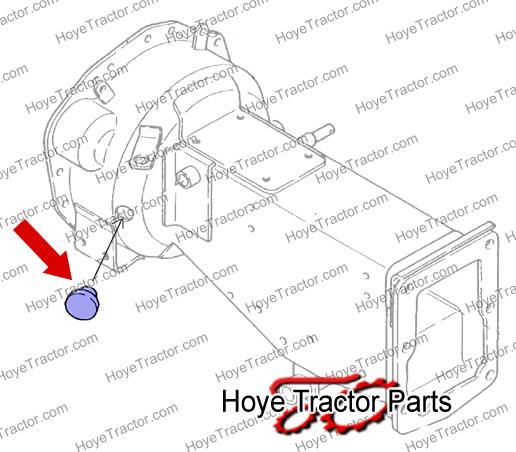 RUBBER PLUG: Yanmar Tractor Parts