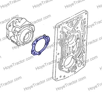 PWR SHIFT MANIFOLD GASKET: Yanmar Tractor Parts