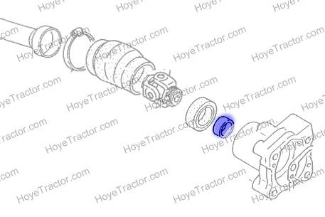 SLEEVE (WEAR COLLAR): Yanmar Tractor Parts
