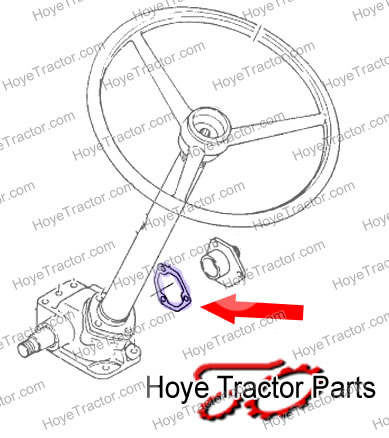 GASKET SIDE COVER: Yanmar Tractor Parts
