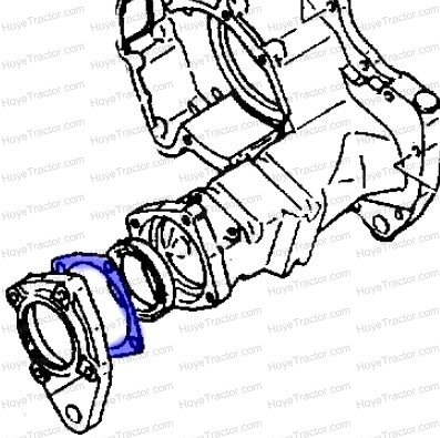 REAL AXLE GASKET: Yanmar Tractor Parts