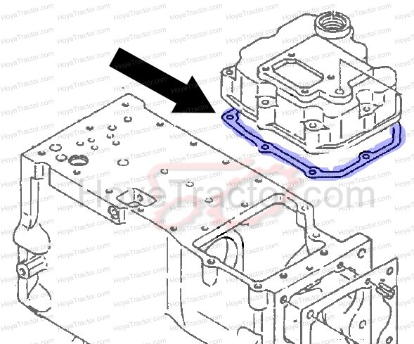 SHIFTER GASKET: Yanmar Tractor Parts