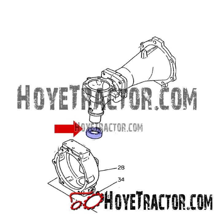 NEEDLE BEARING: Yanmar Tractor Parts