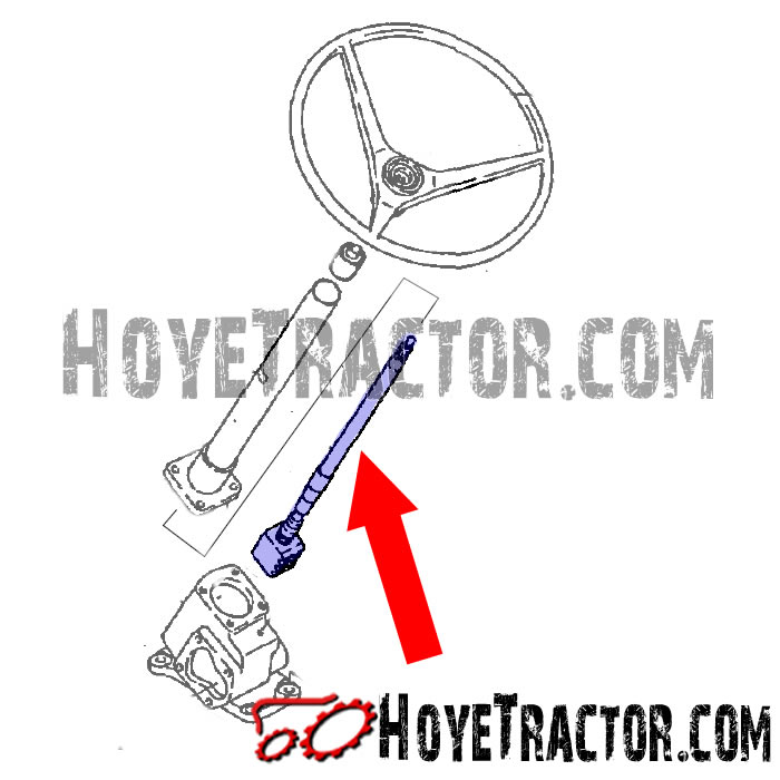 STEERING SHAFT ASSEMBLY: Yanmar Tractor Parts
