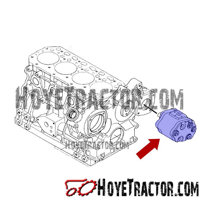Power Steering Pump: Yanmar Tractor Parts
