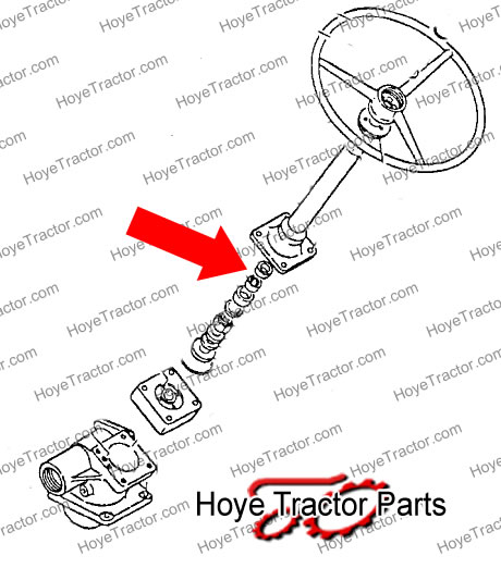 POWER STEERING UPPER SEAL: Yanmar Tractor Parts