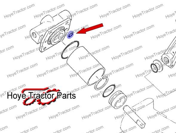HYDRAULIC ORING: Yanmar Tractor Parts