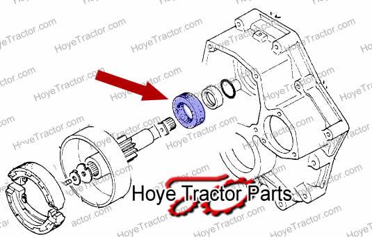 BRAKE SHAFT SEAL: Yanmar Tractor Parts