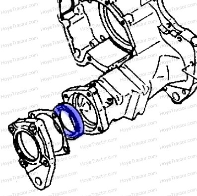 REAR AXLE SEAL: Yanmar Tractor Parts
