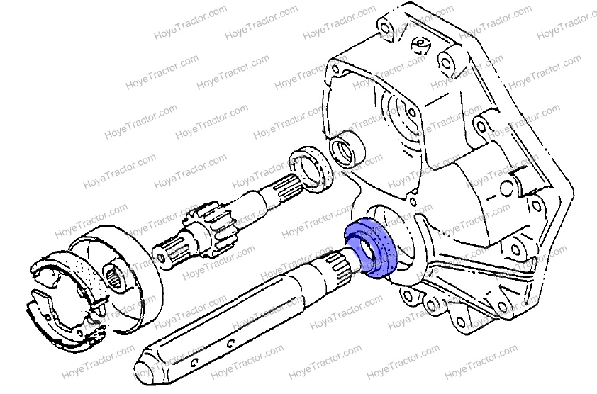 SEAL REAR AXLE_: Yanmar Tractor Parts