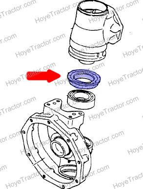 KNUCKLE SEAL: Yanmar Tractor Parts