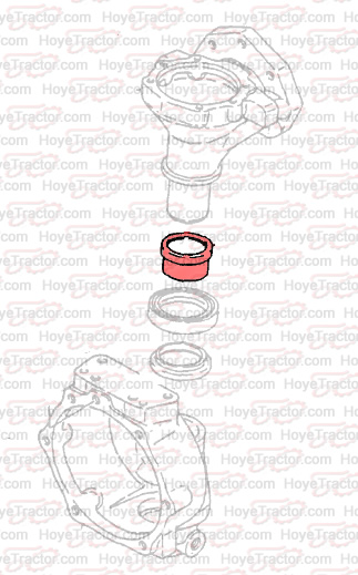 FRT AXLE SLEEVE: Yanmar Tractor Parts