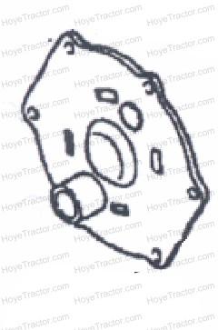 BRAKE DRUM COVER_- Backorder: Yanmar Tractor Parts