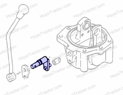 4WD DROP BOX SHIFTER ARM: Yanmar Tractor Parts
