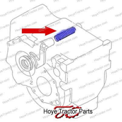 DIFF LOCK RTN SPRG _: Yanmar Tractor Parts