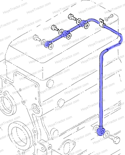 Engine Oil Line CH12858: Yanmar Tractor Parts