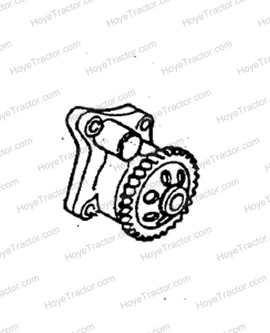OIL PUMP ASSEMBLY: Yanmar Tractor Parts