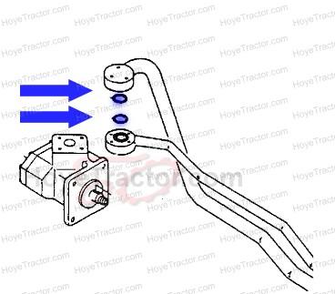 Hydrailic Line Oring: Yanmar Tractor Parts