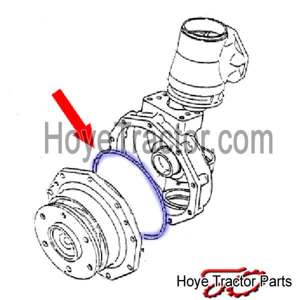 Oring (each): Yanmar Tractor Parts