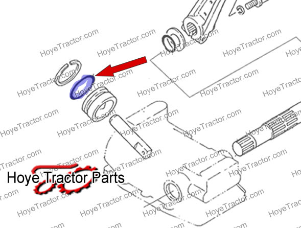 O-RING: Yanmar Tractor Parts